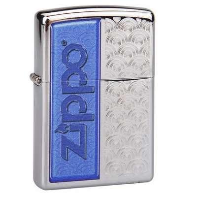 Зажигалка Zippo Scallops with Zippo 28658