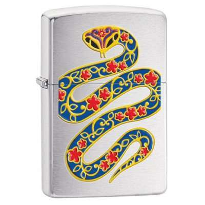 Зажигалка Zippo YEAR OF THE SNAKE 28456