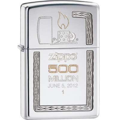 Зажигалка Zippo Armor 500th Million Limited Edition High Polish Chrome 28413