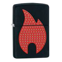 Зажигалка Zippo Blind Zippo Flame 29106