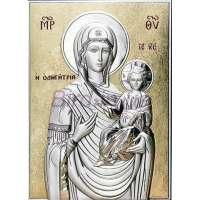 Серебряная Икона Leader Argenti Божьей Матери Одигитрия 130х180 05.13.66D