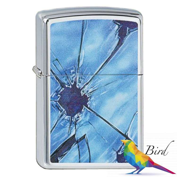 Фото Зажигалка Zippo BROKEN GLASS 250.325 | Интернет магазин Bird.in.ua