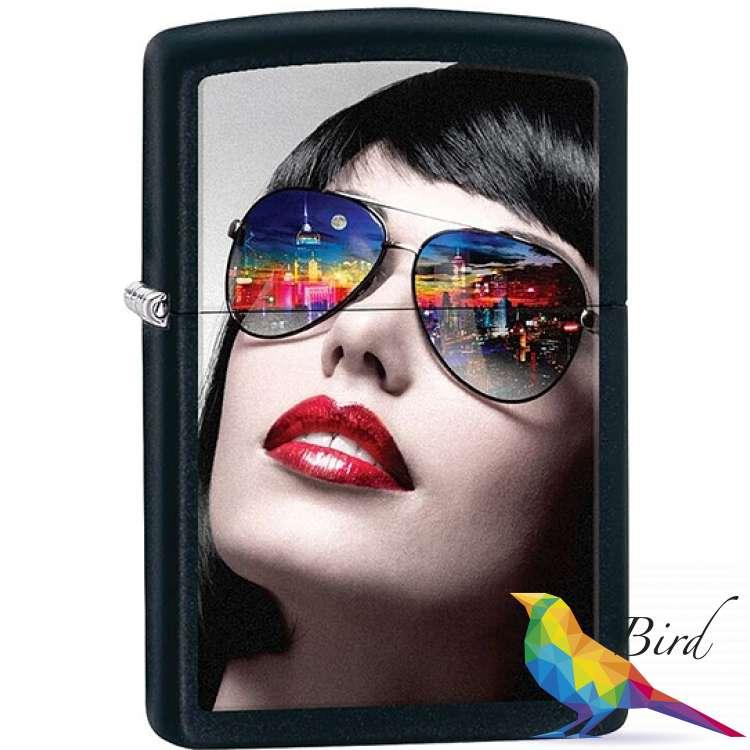 Фото Зажигалка Zippo Reflective Sunglasses 29090 | Интернет магазин Bird.in.ua