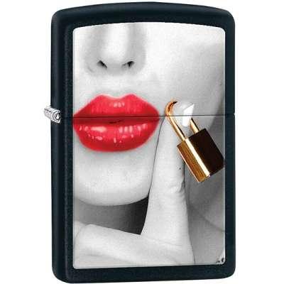 Зажигалка Zippo Locked Lips 29089