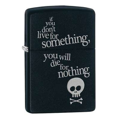 Зажигалка Zippo Live For Something 29091