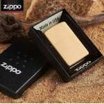 Фото Зажигалка Zippo BR FIN SOLID BRASS 204B | Интернет магазин Bird.in.ua