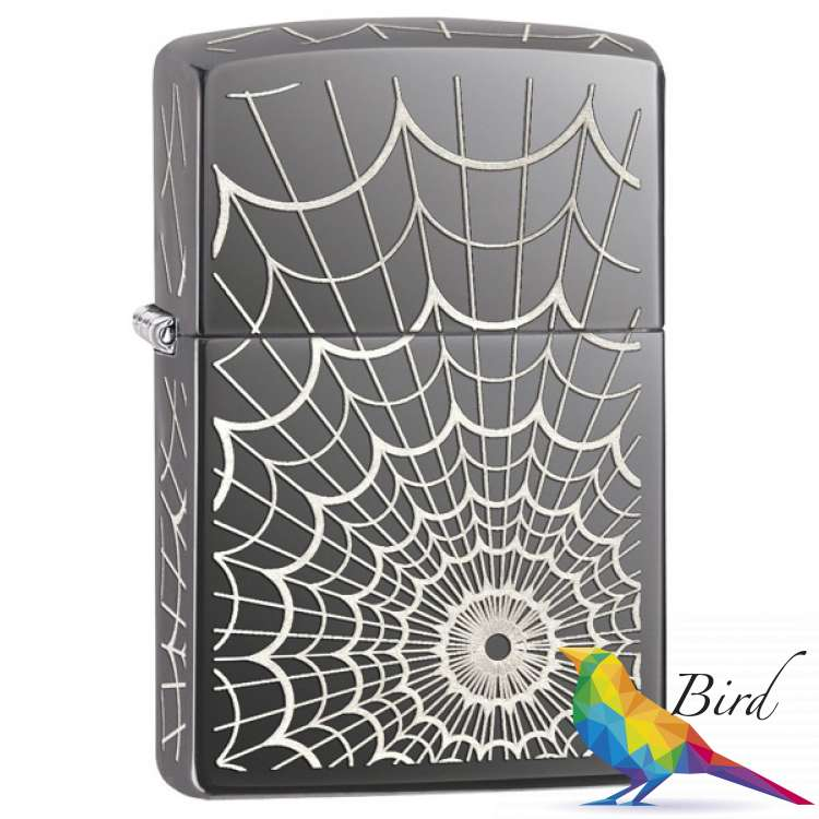 Фото Зажигалка Zippo Web All Over 28527 | Интернет магазин Bird.in.ua