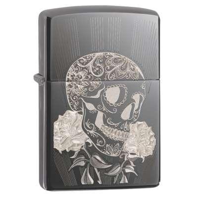 Зажигалка Zippo Fancy Skull 29883