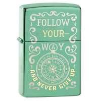 Зажигалка  Zippo Follow Your Way Design 49161