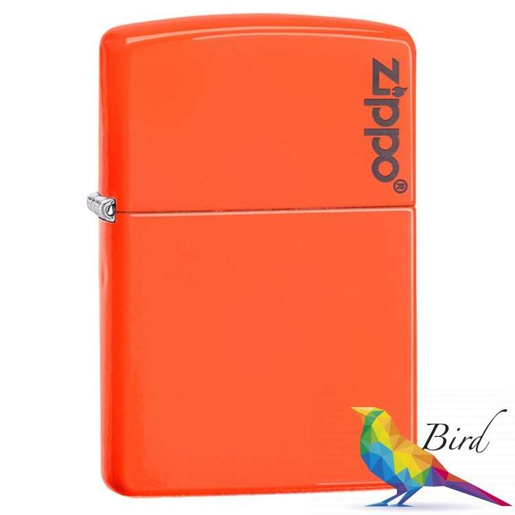 Фото Зажигалка Zippo Neon Orange Lighter LOGO 28888ZL | Интернет магазин Bird.in.ua