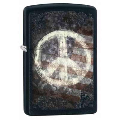 Зажигалка Zippo Peace On Flag 28864