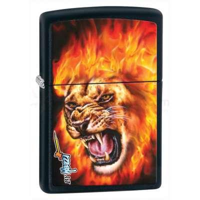 Зажигалка Zippo MAZZI-FLAME LION 28003