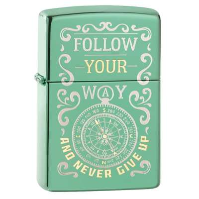 Зажигалка  Zippo Follow Your Way Design 49161