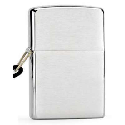 Зажигалка Zippo LOSSPROOF BRUSHED CHROME 275
