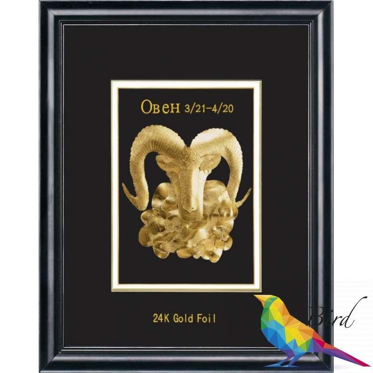 Фото Сувенирное панно Golden Овен 800.3 HB | Интернет магазин Bird.in.ua