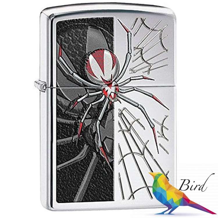 Фото Зажигалка Zippo Spider 28795 | Интернет магазин Bird.in.ua
