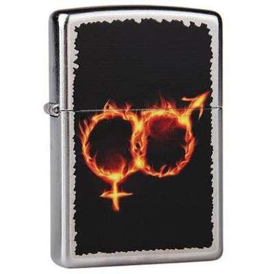 Зажигалка Zippo MAN WOMAN FIRE 28446