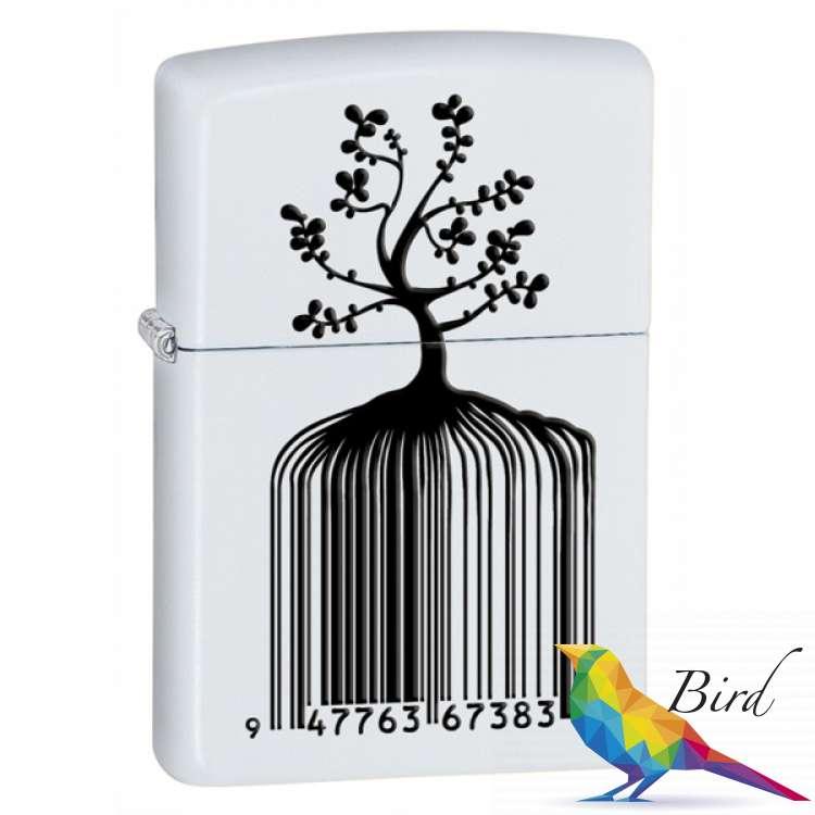 Фото Зажигалка Zippo IDENTITY TREE BARCODE 28296 | Интернет магазин Bird.in.ua