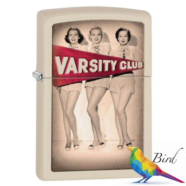 Фото Зажигалка Zippo Varsity Club 28441 | Интернет магазин Bird.in.ua
