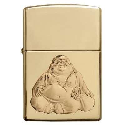 Зажигалка Zippo Laughing Buddah Emblem 29626