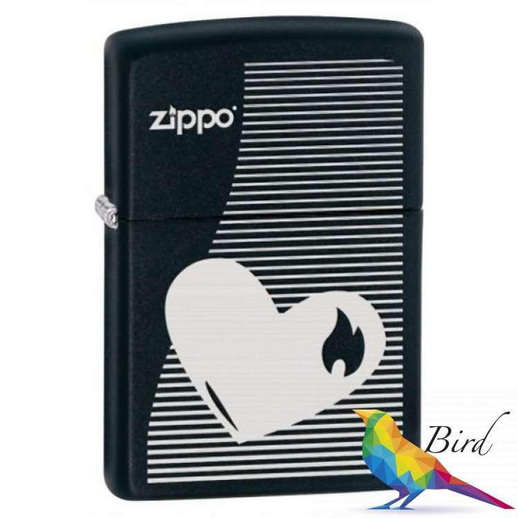 Фото Зажигалка Zippo HEART LINES 28549 | Интернет магазин Bird.in.ua