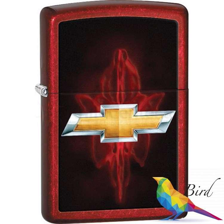 Фото Зажигалка Zippo Chevy Candy Apple Red 28636 | Интернет магазин Bird.in.ua