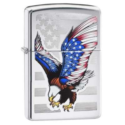 Зажигалка Zippo EAGLE FLAG 28449