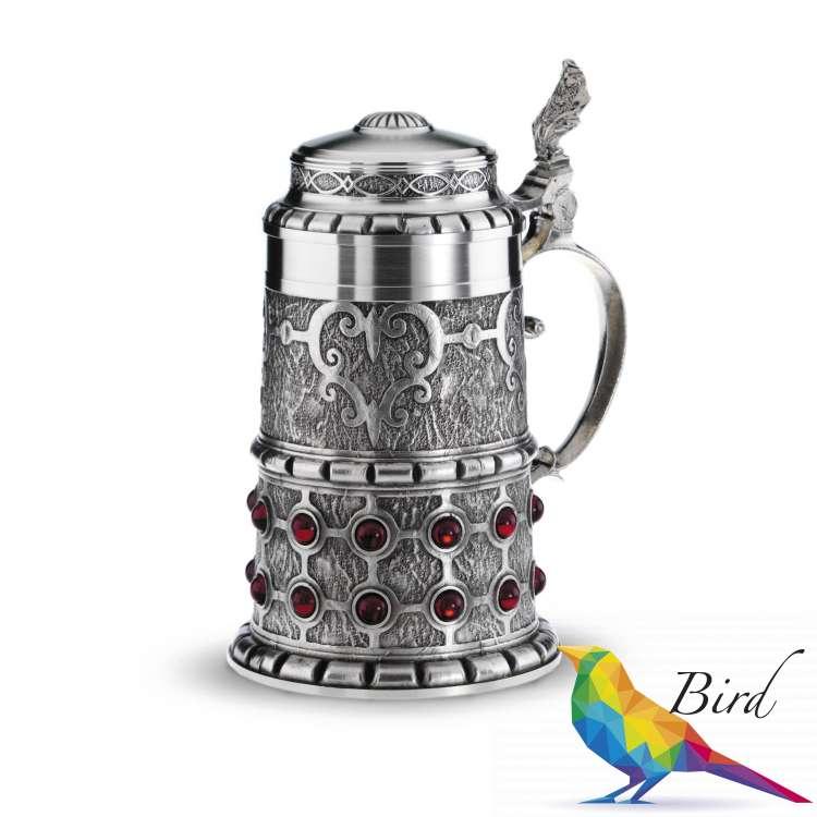 "Фото 13115  Кубок для пива ""Рубин"" | Интернет магазин Bird.in.ua"