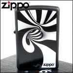 Фото Зажигалка Zippo SPIRAL BLK WHITE 28297 | Интернет магазин Bird.in.ua