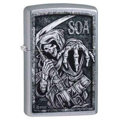 Зажигалка  Zippo Sons of Anarchy 49004