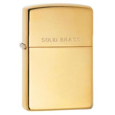 Зажигалка Zippo SOLID BRASS 254