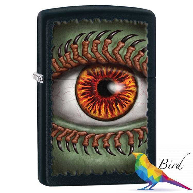 Фото Зажигалка Zippo Monster Eye 28668 | Интернет магазин Bird.in.ua
