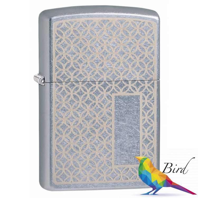 Фото Зажигалка Zippo (Зиппо) Pattern Panel Design 49212 | Интернет магазин Bird.in.ua