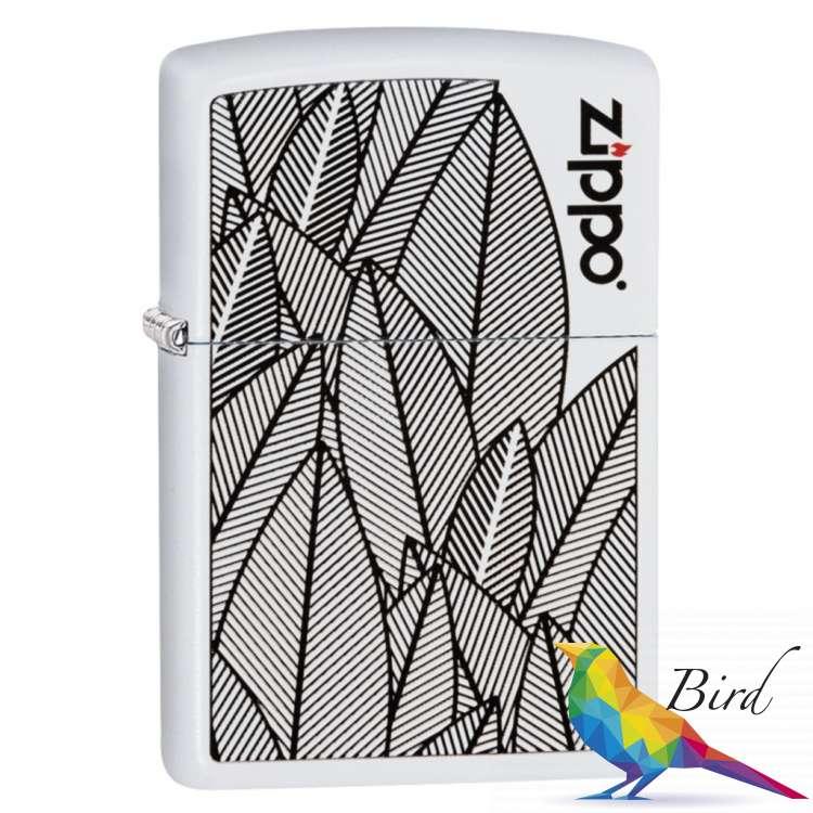 Фото Зажигалка Zippo (Зиппо) Leaves Design 49214 | Интернет магазин Bird.in.ua