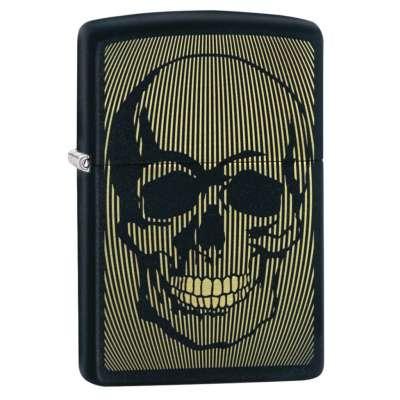 Зажигалка Zippo (Зиппо) Skull Design 49216