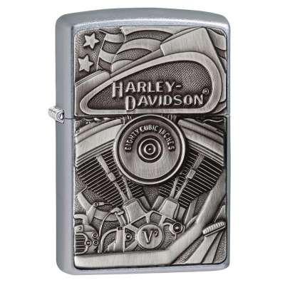 Зажигалка Zippo Harley-Davidson Motor Flag 29266