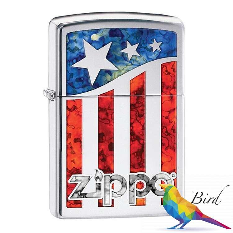 Фото Зажигалка Zippo US Flag 29095 | Интернет магазин Bird.in.ua