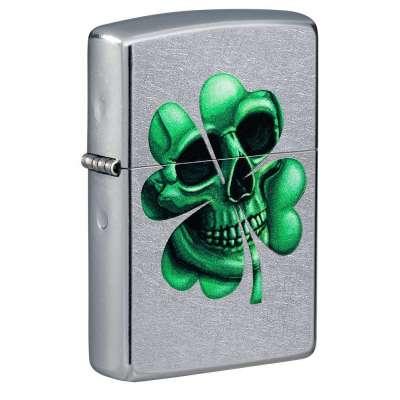 Зажигалка  Zippo Lucky Skull 49260