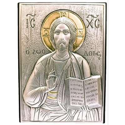 Серебряная Икона Leader Argenti Иисус Христос 70x100 05.B839.60D