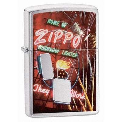 Зажигалка Zippo NEON SIGN 24069