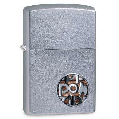 Зажигалка Zippo Button Logo 29872