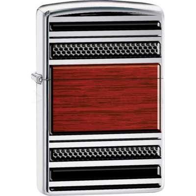 Зажигалка Zippo Steel And Wood 28676