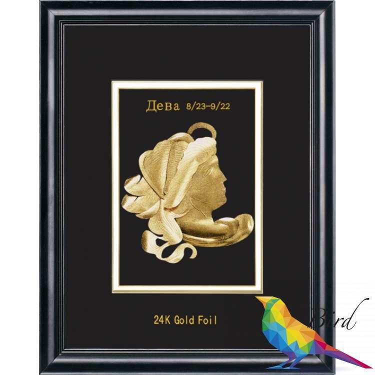 Фото Сувенирное панно Golden Дева 800.8 HB | Интернет магазин Bird.in.ua