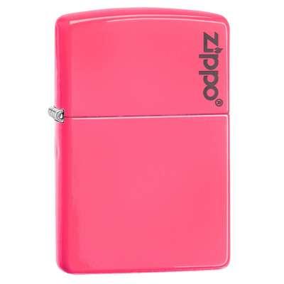 Зажигалка Zippo Neon Pink LOGO 28886ZL