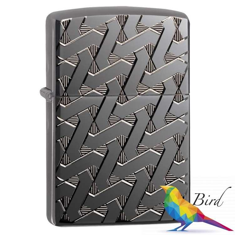 Фото Зажигалка  Zippo Geometric Weave Design Armor 49173 | Интернет магазин Bird.in.ua