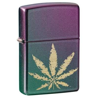 Зажигалка  Zippo Cannabis Design 49185