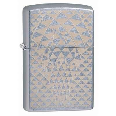 Зажигалка Zippo (Зиппо) Triangle Design 49211