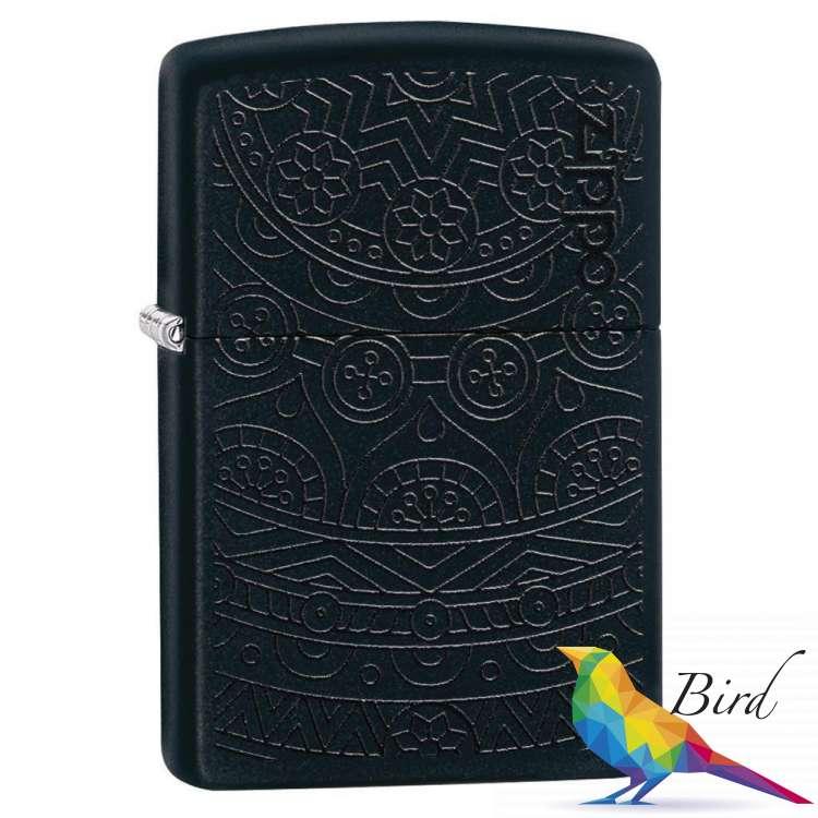 Фото Зажигалка  Zippo Tone on Tone Design 29989 | Интернет магазин Bird.in.ua