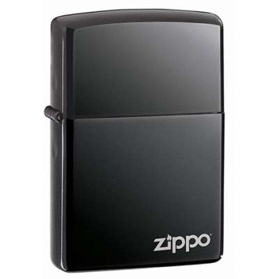 Зажигалка Zippo BLACK ICE w/ZIPPO LOGO 150 ZL