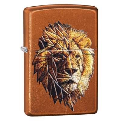 Зажигалка Zippo Polygonal Lion 29865